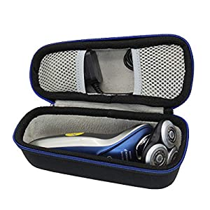 Hard Travel Case Bag for Philips Series 5000 7000 9000 Wet and Dry Men's Electric Shaver-S5530/06 S5572/40 S5420/06 S7370/12 S9111/43 by GUBEE