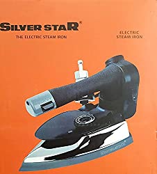 SILVER STAR INDUSTRIAL ELECTRIC STEAM IRON ES-3 WITH 4.0L MOVABLE WATER TANK (1000 W) (220V) WITH FREE  STEAM PRESS TEFLON SHOE
