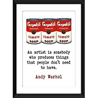 "Andy Warhol Quote ""Artist"" Quota"