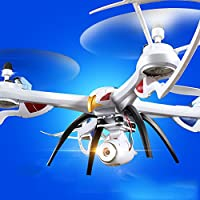 oofay Drone Camera Wifi Real-Time Transmission Quadcopter Super Large Crash-Resistant Aerial Remote Control Aircraft Real-Time Aerial Drone
