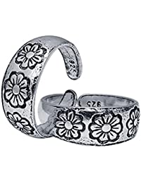 CS Jewellers Powerstar Silver Toe Ring