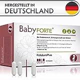BabyFORTE FolsäurePlus Vitamine • 60 Kapseln • Für Kinderwunsch, Schwangerschaft & Stillzeit...