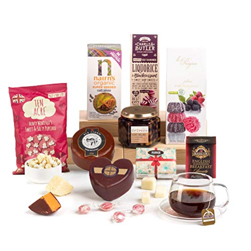 Hay Hampers Gluten-Free Cheese Hamper Gift Box - Free UK Delivery
