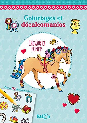 Décalcomanie - Chevaux et poneys