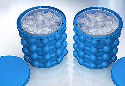 Konesky Ice Cube Maker Genie Revolutionäre platzsparende Eiswürfelmaschine Ice Genie Kitchen Tools