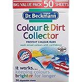 Dr. Beckmann feuilles d'absorption de couleur et saleté