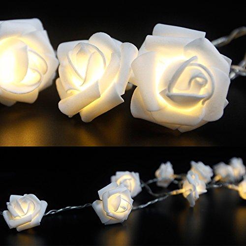 Schminktisch Hocker Kosmetiktisch Frisierkommode Frisiertisch Spiegel Lady Rose - 5