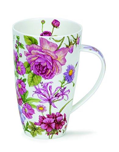 DUNOON Henley Shaftsbury Blumen Fine Bone China Tasse-Made in England - rose -