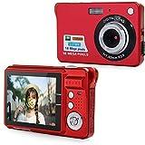 Elec tech Digitalkamera, Anti Shake Rote Augen Reduzierung Mini 8x optischer Zoom 2,7 Zoll TFT LCD HD Digital Kompaktkamera-Schwarz
