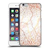 Head Case Designs Rose Gold Marmor Glitzer Druecke Ruckseite Hülle für iPhone 6 Plus/iPhone 6s Plus