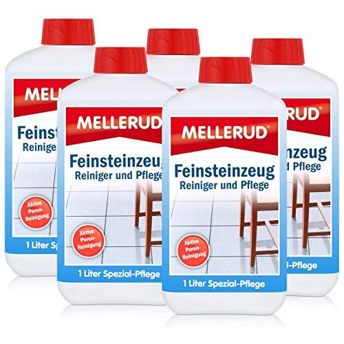 feinsteinzeug pflege 5x Mellerud Feinsteinzeug Reiniger und Pflege 1L