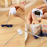 #8: CONNECTWIDE® New Food Portable LCD DIGITAL FOOD THERMOMETER FOR BBQ MEAT CAKE CANDY JAM DEEP FRY FOOD