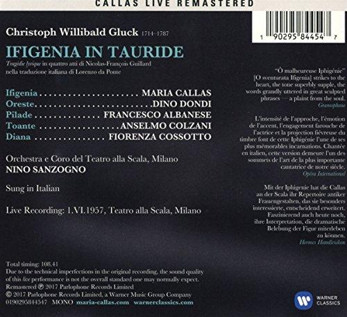 Gluck: Iphigenie en Tauride (Milan, 01/06/1957)