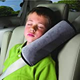 #4: NIKAVI Seat Belt Gray Shoulder Pad- A Must Have for All Car Owners for a More Comfortable Driving (1PC)