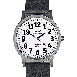 Gardé Ruhla Klassische Uhr für Herren Titan Exclusiv 55-86