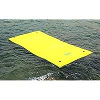 Matelas flotteur Ski Flott quatre Six places 350cm x 180cm x 3,5cm Adapté pour lac mer piscine