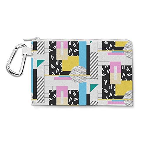 Love The 80s Canvas Zip Pouch Bag / Pencil Case