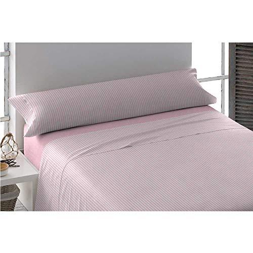 Pimpamtex - set di lenzuola di 100% cotone per letto - (singolo, kodac/topitos rosa)