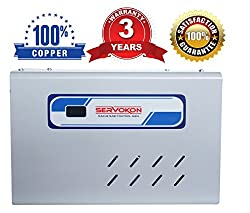 Servokon Sk 517c Digital Voltage Stabilizer for 2.0 Ton(170-260v)(Grey) (Copper)