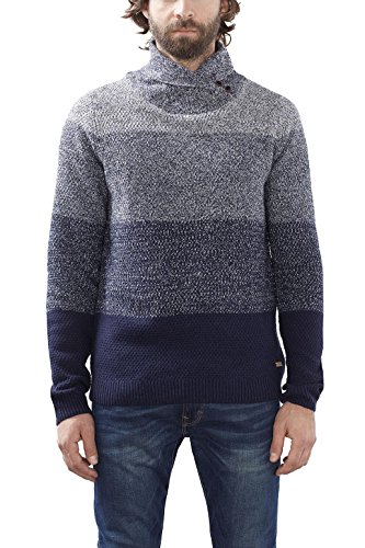 edc by ESPRIT 126CC2I002, suéter Hombre, Azul (Navy), XX-Large (Talla del fabricante: X-Large)