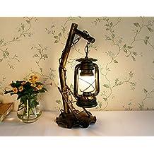 Beleuchtung Retro Petroleumlampe Dekorative Tischlampe Kreative Schlafzimmer Wohnzimmerlampe Alten Eisen Laterne Studie Klassische ZZZ
