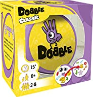 Dobble Classic NL - Kaartspel voor jong en oud - Test je snelheid, observatie en reflexen - Vijf spelvariaties