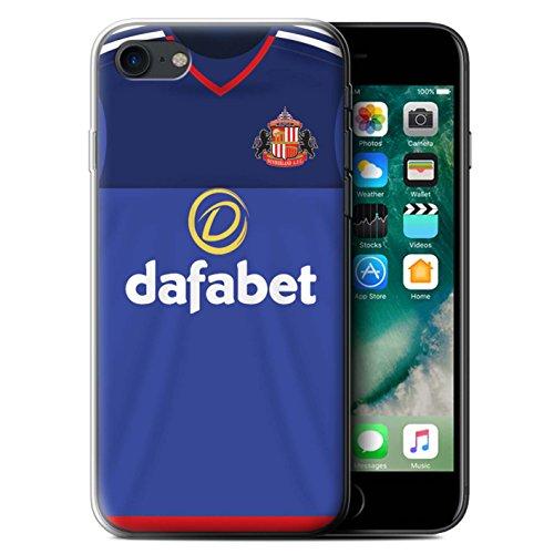 Offiziell Sunderland AFC Hülle / Gel TPU Case für Apple iPhone 7 / Matthews Muster / SAFC Trikot Home 15/16 Kollektion Torwart