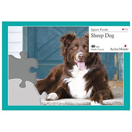 Active Minds Schäferhund - 13 Teile Puzzle entworfen als Beschäftigung für Senioren mit Demenz / Alzheimer -