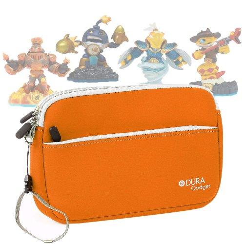 Housse de rangement en orange pour transporter vos figurines de Jeu Skylander SWAP Force et Skylander Giants - résistante et lavable