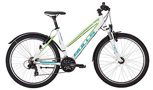 Preisvergleich Produktbild Bulls Mountainbike Sharptail Street 1 (2017) Fahrrad,  Bike,  26 Zoll,  21-Gang-Kettenschaltung,  Shimano Nabendynamo,  Trapez-Rahmen - weiss