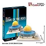 3D Puzzle Dome of the Rock (Neues großes Modell!) Felsendom Jerusalem Cubic Fun Cubicfun Tempelberg