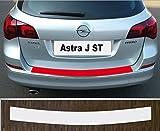 passgenau für Opel Astra J Sports Tourer Facelift ab 2012 - 2016 Lackschutzfolie Ladekantenschutz transparent