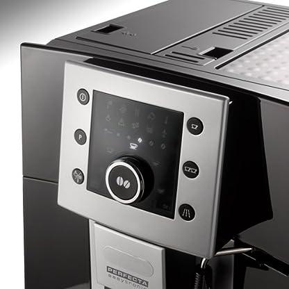 DeLonghi-ESAM-5400-Kaffeevollautomat-Digitaldisplay-Milchaufschumdse-Kegelmahlwerk-13-Stufen-Herausnehmbare-Brhgruppe-2-Tassen-Funktion-schwarz