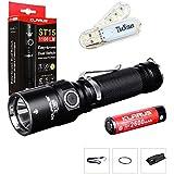 Bundle: Klarus ST15CREE linterna LED de 1100lúmenes watereproof XP-L HI V3con 18650batería recargable y thenines USB con luz