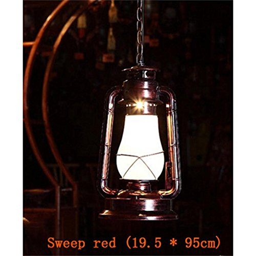 Shopping- Retro Vintage Petroleumlampe Laterne chinesische alte klassische antike Bar Cafe Terrasse Tisch schmiedeeiserne Kronleuchter