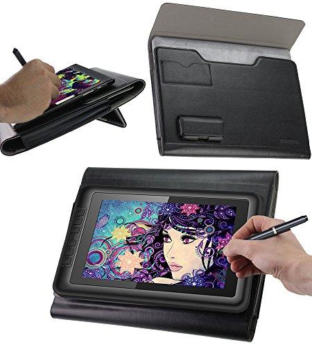 Broonel Folio Cuir debout Fonction graphiques tablettes Housse Coque Étui Couverture Pour XP-Pen Artist 10S IPS
