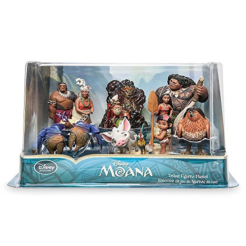 Disney Moana 10 Piece Figure Play Set by DisneyMoana ...