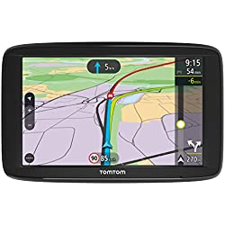 TomTom VIA 62 - GPS Auto - Cartographie Europe 48, 6 Pouces, Trafic ? Vie (via Smartphone) et Appel Mains-Libres