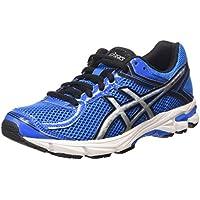 ASICS Gt-1000 4 Gs - Scarpe Running Unisex – Bambini, Blu (electric Blue/silver/black 3993), 32 1/2