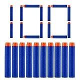 QUN FENG Refill Bullet Darts 100PCS Foam Tip Premium Bullets Ammo Pack For Nerf N-strike Elite Series Blasters Kid Gun Toy, Blue