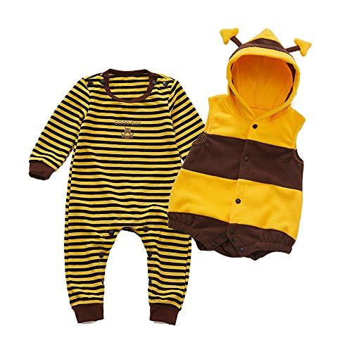 (mikistory Unisex Baby hollowen Tier Kostüm Kleidung 0–24Monate)