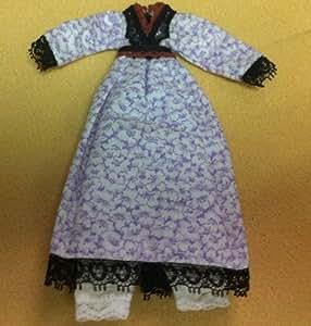 Mesdames robe, miniature maison poupées