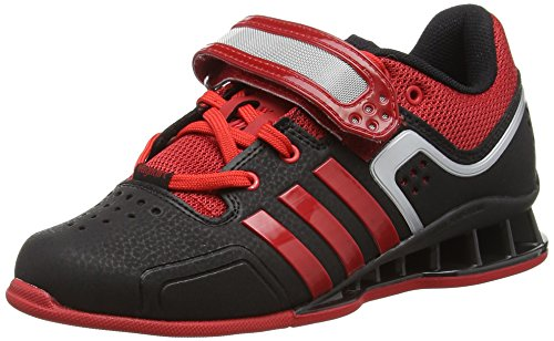 Adidas Adipower, Unisex Adults Multisport Indoor Shoes, Black (Black/Litht Scarlet), 6 UK...