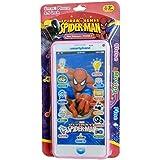 HickoryDickoryBox Spider Man Smart Phone (Pink) Color May Vary (Camera , Song , Lighting Ring , SMS, Digital Music , Volume Up & Volume Down)