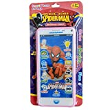 #1: HickoryDickoryBox Spider Man Smart Phone (Pink) Color May Vary (Camera , song , lighting Ring , SMS, Digital Music , Volume up & Volume down)