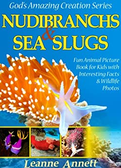 Descargar PDF Nudibranchs & Sea Slugs! Kids Book About Colorful Marine Life: Fun Animal Picture Book for Kids with Interesting Facts & Wildlife Photos (God's Amazing Creation Series 2)