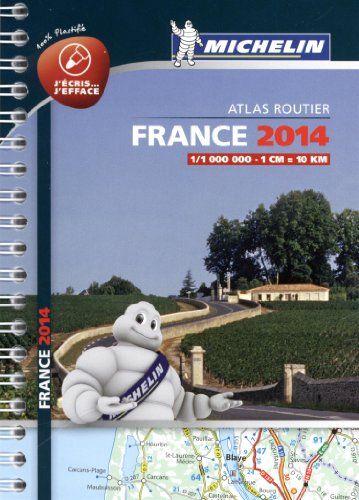 Mini Atlas France plastifié 2014 Michelin par Collectif MICHELIN