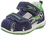 Superfit Baby Jungen Freddy Sandalen, Blau (Water Kombi), 28 EU