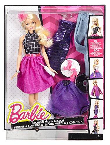 Image of Barbie Fashion Mix n Match Doll - Purple