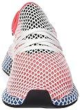 adidas Herren Deerupt Runner Gymnastikschuhe, Rot solar Red/Bluebird, 40 2/3 EU - 4